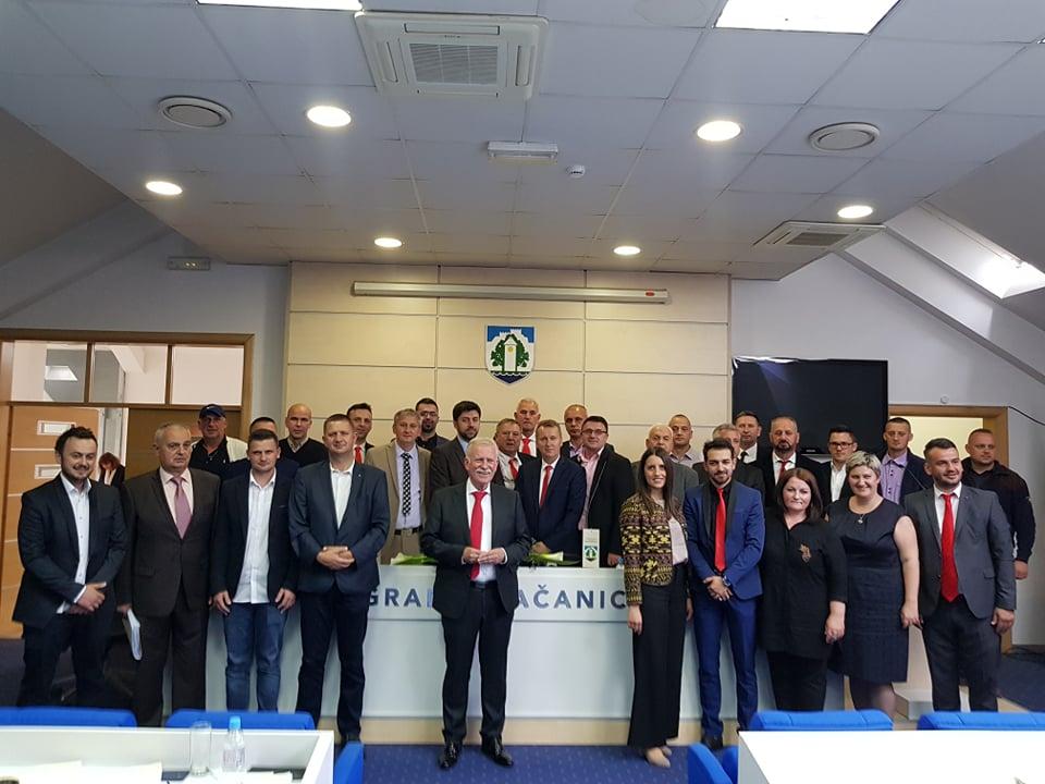 Održana konstituirajuća sjednica Gradskog vijeća Grada Gračanica