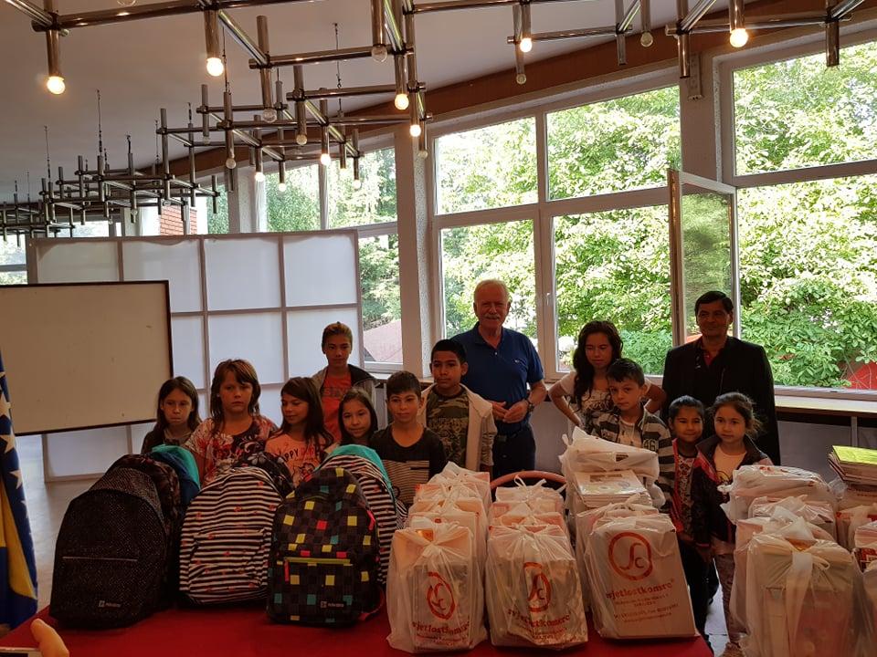 Gračanica: Pomoć za Rome u obrazovnom procesu