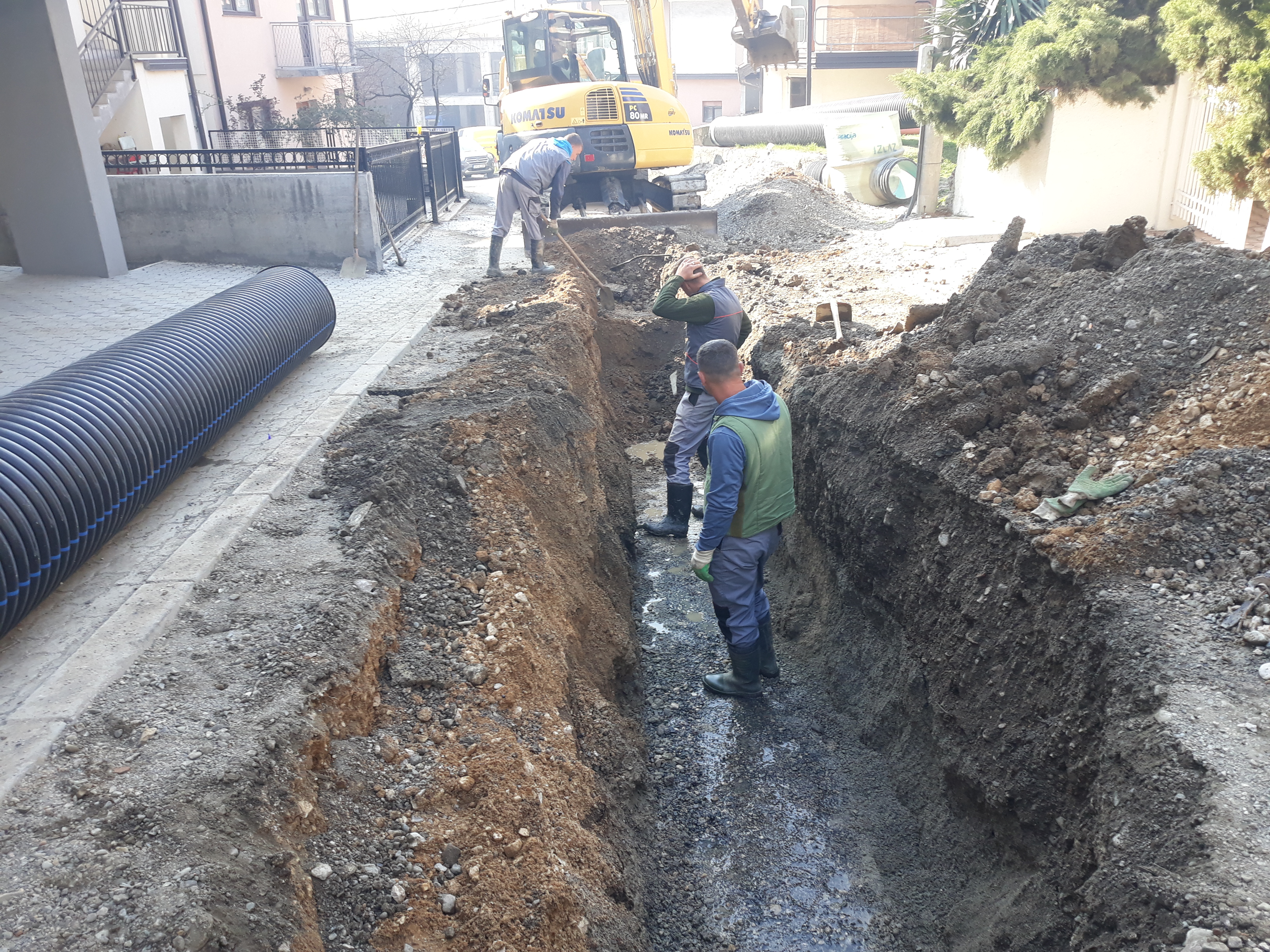 Završeni radovi na izgradnji oko 6.000 metara kanalizacije u MZ Gračanica