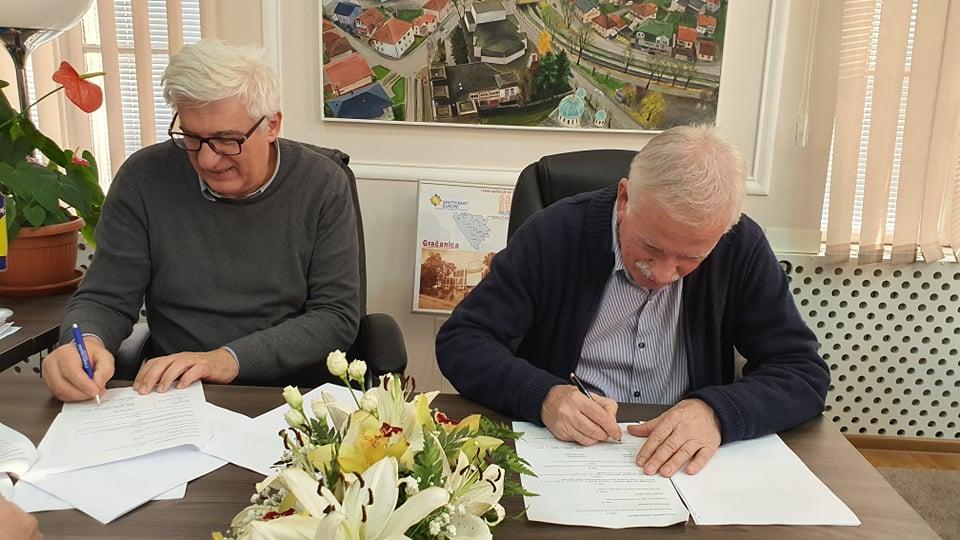 Potpisan Sporazum o međusobnoj saradnji između Caritasa Švicarske i Grada Gračanica